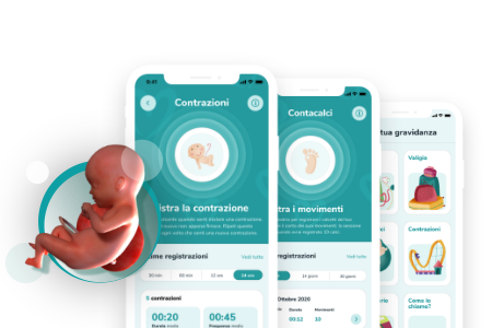 Schermate App Coccole Pampers