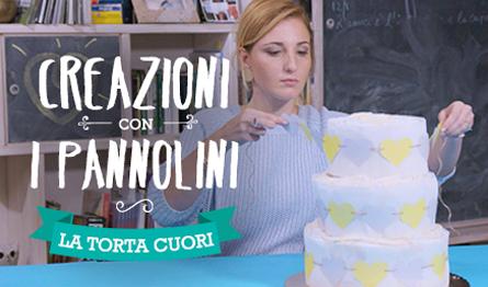 La Torta A Cuore Di Pannolini