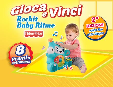 Gioca e vinci Rockit Baby Ritmo - 2° edizione