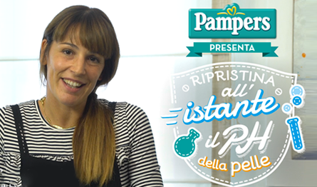 Salviettine Pampers: la sfida del pH