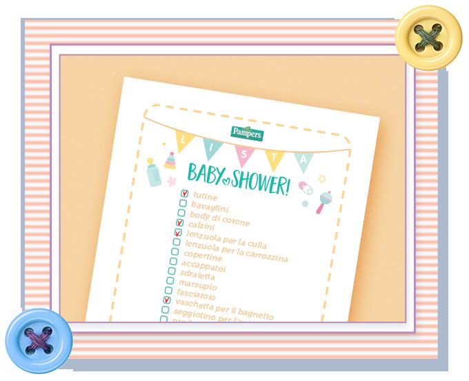 Lista babyshower